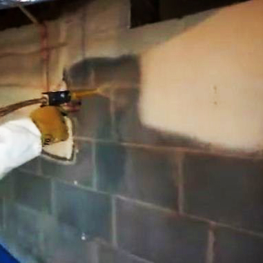 Crawl Space Spray Foam Image