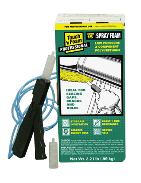 Touch 'n Foam System 15 Spray Foam Insulation Kit