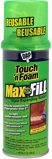 Touch 'n Foam Max Fill
