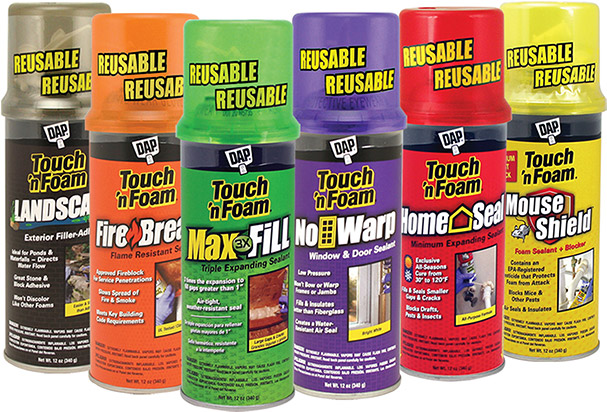 Touch N Foam Professional Amp Diy Spray Foam Insulation